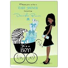 american blue baby shower invitations paperstyle