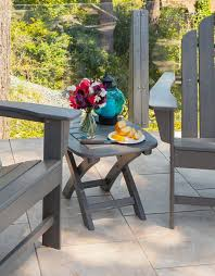 Outdoor Folding Side Table Outdoor Garden Side Table Into A Pleasant Place Hum Ideas