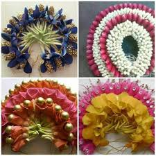 flower decoration for hair flowers earrings flowers and indian bridal