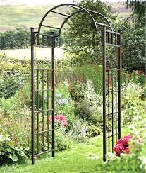 wedding arbor ebay metal arch for the garden image of arch metal garden trellis metal