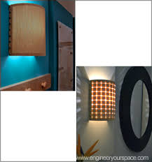 Diy Wall Sconce How To Make A Wall Lamp Smart Diy Solutions For Renters