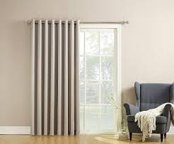 Curtains To Cover Sliding Glass Door Economical Alternative Sliding Door Curtains Home Design Ideas