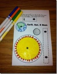 free template to create model to show earth orbits the sun the