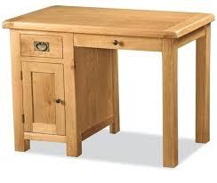 Small Oak Desks Small Writing Bureau In Oak Regarding Popular House Desk