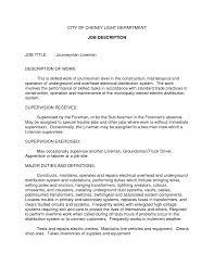 Job Resume Profile by Resume Examples Job Duties Augustais