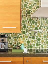 kitchen backsplash green green glass tile kitchen backsplash
