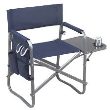 Directors Folding Chair Folding Directors Chair With Side Table Kamp Rite Folding