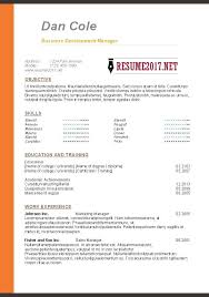 resume template pdf free business resume format u2013 inssite