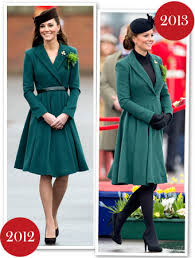 duchess kate duchess kate recycles emilia wickstead dress kate middleton s st patrick s day style she wore her green emilia