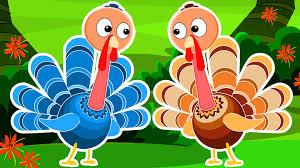 five turkeys turkey song happy thanks giving