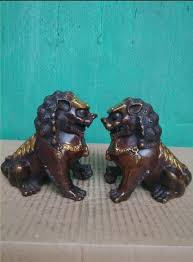 antique bronze lion wby 2017 705 the lion of copper gilt bronze small