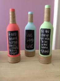 Diy Wine Bottle Decor by Wine Bottle Crafts The Yes Girls