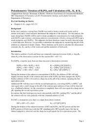 lab 4 polyprotic acid titration ph titration