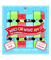 who or what am i crackers cancer research uk shop