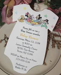 Baby Shower Invitations Ebay Baby Mickey Mouse U0026 Baby Minnie Mouse U0026 Friends Baby Shower