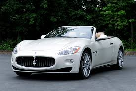 maserati granturismo white convertible and the coolest convertibles ever designed are