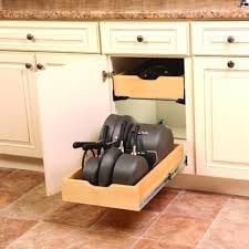 Pull Out Drawer Hardware Kits Real Solutions Pot  Pan - Kitchen cabinet drawer hardware