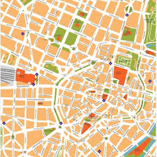 vector map europe city maps vector wall maps made in barcelona from