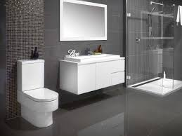 Grey Modern Bathroom Genova Select And Walk In Jpg 667 500 Sha Home Style