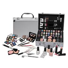 Make Up Vanity Case Vanity Case Beauty Cosmetic Set Travel Make Up Box Train Holder