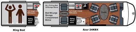 Conversion Van Floor Plans Floor Plans Class B Motorhome Van