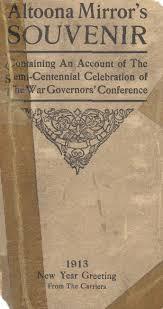 centennial celebration souvenir booklet altoonamirror ssouvenir0001