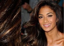 brown eyes hair style best hair color for olive skin tone brown eyes medium hair styles