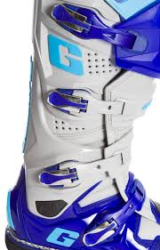 blue dirt bike boots gaerne mx boots sg 12 blue 2017 maciag offroad