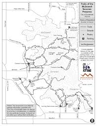 Arizona City Map by Tom U0027s Thumb Trail Msp U2022 Hiking U2022 Arizona U2022 Hikearizona Com