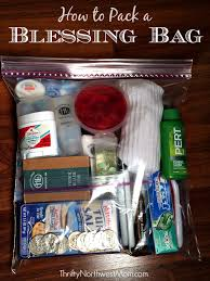 how to pack a blessing bag free printable checklist blessings
