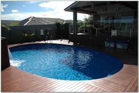 image of small oval above ground pools 21 round above ground pool