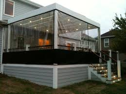 enclose screen porch for winter