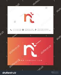 Business Letter Logo by N T Letter Logo Business Card Stock Vector 463458224 Shutterstock