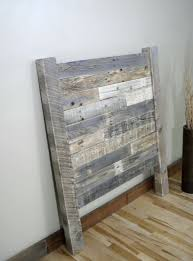 reclaimed wood headboard king grey wood headboard king home design ideas
