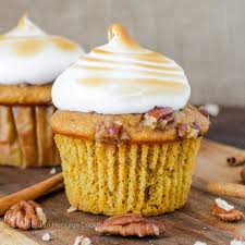 Sweet Potato Recipe For Thanksgiving With Marshmallows Thanksgiving Dessert Cupcake Round Up American Heritage Cooking