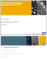 ewm ppt by sap warehouse radio frequency identification