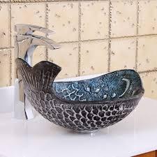 bathroom sink trough sink vanity white bathroom sink glass sink