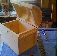 wooden toy treasure chest plans woodworking projects hunters
