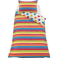 Childrens Duvet Cover Sets Uk Buy Colourmatch Star And Stripe Children U0027s Bedding Set Single At