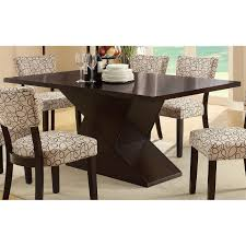 coaster furniture 103160 libby dining table with hourglass base in