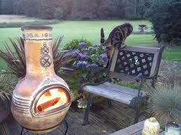 Chiminea On Wood Deck What Are Chimineas