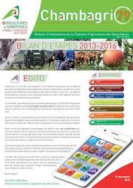 chambre d agriculture 79 calaméo chambre d agriculture 79 bilan etapes 2013 2016