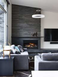 small living room ideas with fireplace centered raised hearth running straight across diy home group