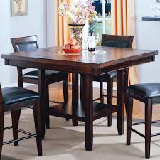 Dining Room Table With Lazy Susan by Crown Mark Fulton Counter Height Table With 20 Inch Lazy Susan