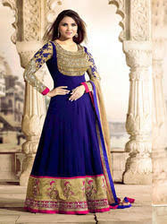 ladies party wear suit at best price in india
