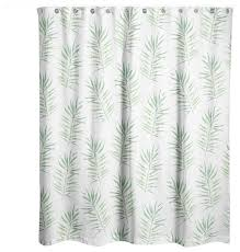 palm leaf shower curtain tropical shower curtains by designs