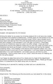 associate art director cover letter art director cover letter