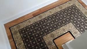 modern stair runner ideas how to install custom carpet runners