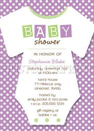 purple and green baby shower invitations baby shower diy