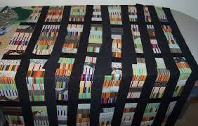 Bookshelf Quilt Pattern Blonde Using Rotary Cutter Bookcase Quilt Tutorial